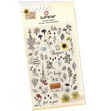 The Secret Garden Stickers Sticker Novelty craft Scrapbook Card DIY