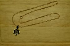 "17.5"" YELLOW GOLD FILLED CABLE CHAIN NECKLACE 2.5mm"
