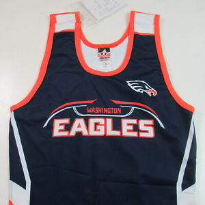 NWT Washington Eagles Wrestling Singlet Sample Alleson Athletic MENS LARGE