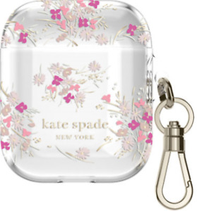 NEW Kate Spade Protective Case for Apple AirPods Spring Garden Pink GEN 1 / 2