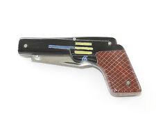 Pistolet, forme, Gangster, vintage, couteau de poche, pocket knife, canif, 1920?, rare!