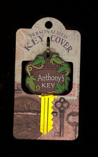 Personalized Key Cover 'Anthony's Key' Great Gift Stocking Stuffer Office Gift