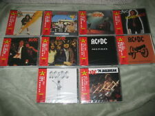 AC/DC / High Voltage Back In Black ...95' Series All JAPAN 10 CD PROMO NEW T-A3