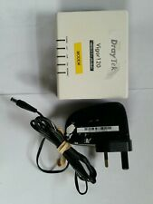 Draytek Vigor120 Adsl2/2+ Modem with power supply