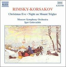 Rimsky-Korsakov: Christmas Eve / Night on Mount Triglav