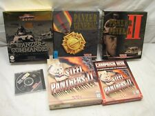 War Strategy Computer Games Panzer General II Steel Panthers Commander PC Tanks