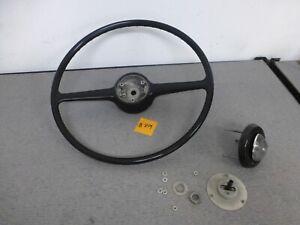 Vintage Rolls Royce Silver Shadow 2 Spoke OEM Black Steering Wheel 1968   #809