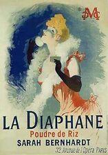 """Jules Cheret LA DIAPHANE  (40"""" x 27 1/2"""") (Vintage Reproduction)"""