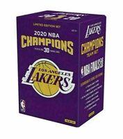 2020 Panini Los Angeles Lakers Championship Box Limited 30 Card Set