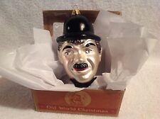 Charlie Chaplin,Vintage,Old World Christmas,Retired,Inge-Gl as,Germany,Mib,Actor