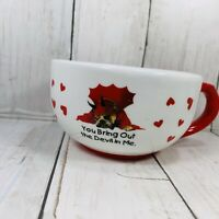 Russ 2005 Zelda Wisdom You Bring Out The Devil In Me Ceramic Mug  Boxer Dog