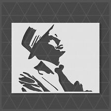 Frank Sinatra Stencil 14x11 11x8.5 5x4 - Reusable Mylar