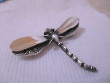 Vintage Taxco Mexico Sterling Silver 925 Dragonfly Pin Brooch