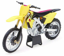 New Ray 1/12 Suzuki RM-Z450 Dirtbike Motorcycle Diecast Model Car Yellow 57643
