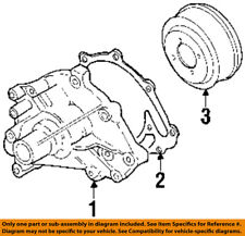 Lincoln FORD OEM 1990 Town Car 5.0L-V8 Water Pump-Gasket E2ZZ8507A