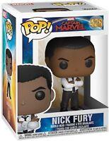 Funko Captian Marvel Nick Fury Pop! Marvel Vinyl Collectable Figure #428