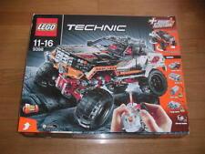 LEGO TECHNIC 9398 4X4 PICKUP + parti aggiuntive + adesivi non attaccati