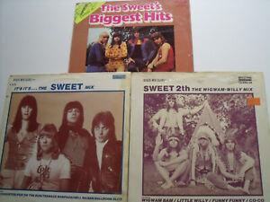 The Sweet 3 LPs Biggest Hits+ 2x Maxi Vinyl