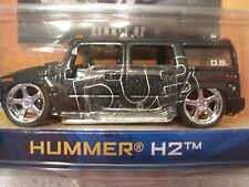 JADA Dub City Hummer H-2 #052 1/64 scale Die Cast NIP w Trading Card black