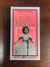 Shirley Temple The Little Princess 1939 (VHS, Crown Movie Classics) VHSshop.com