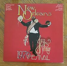 NEW ORLEANS JAZZ & HERITAGE FESTIVAL 1976 / VA ~ Island Black Label ~ NEAR MINT