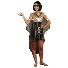 """""""JEWEL OF THE NILE"""" CLEOPATRA EGYPTIAN TEEN HALLOWEEN COSTUME JUNIORS SIZE LARGE"""