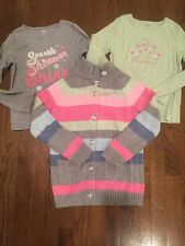 Euc Gymboree Fairy Wishes Lot Sweater Long Sleeve Shirts 7 8 M Winter Fall