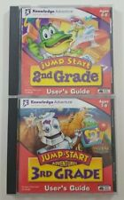 Jump Start Adventures Users Guide CD ROM Bundle 2nd Grade and 3rd Grade Disc
