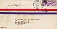 GEORGE HUBERT WILKINS - ENVELOPE SIGNED CIRCA 1932