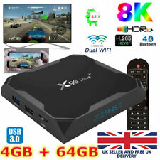 2020 X96 MAX+ 4GB+64GB Android 9.0 TV Box Amlogic S905X3 2.4/5Ghz Dual WIFI BT
