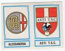 figurina CALCIATORI PANINI 1982/83 NEW numero 565 ALESSANDRIA ASTI T.S.C