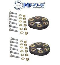 For Mercedes W116 450SE W126 300D 350SL Flex Disc Kit Front and Rear Meyle