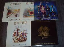 "QUEEN >> All Five UK 7"" Singles From The Innuendo Era!  (Freddie Mercury)"