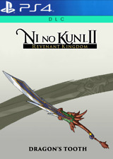 Ni No Kuni II 2 ps4 DRAGON Tooth Sword DLC Code-CD KEY Europe