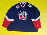 New York Rangers Jersey Pro player Mens XXL 2 extra large blue Lady Liberty NYR
