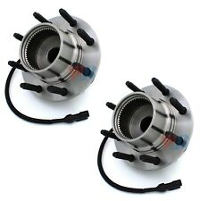 Pair Set of 2 Front WJB Wheel Bearing Hub Kits for F-250 F-350 SD 4WD 4Wheel ABS