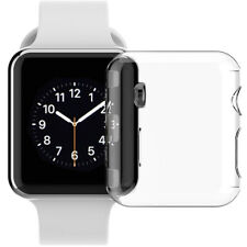 TRANSPARENT CLEAR HARD CASE SCREEN GUARD COVER FOR APPLE WATCH (SERIES 3, 42mm)
