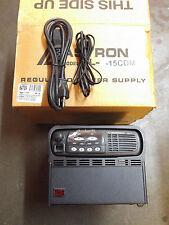 NEW Motorola CDM750 Radio VHF 136-175 4ch AAM25KHC9AA1AN With Astron SL-15CDM