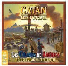 CATAN HISTORIAS - LOS COLONOS DE AMÉRICA - GESTIÓN DE RECURSOS Y ESPACIOS