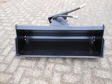 Baggerschaufel, hydraulisch schwenkbar, 1200mm Minibagger Radlader Schaufel $P