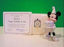 Lenox Mickey'S Happy Birthday To You November Topaz New in Box with Coa