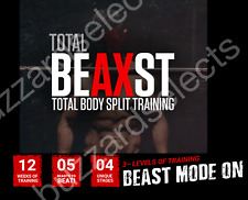 Athlean X AX Total Beast/Beaxst COMPLETE Training Workout Program