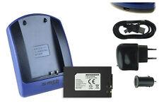 Chargeur+Batterie (USB) IA-BP80W pour Samsung VP-D385i, D391, D391i, D392