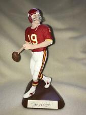 Salvino Joe Montana Signed Figurine! Kansas City Chiefs Home Uniform  VERY RARE!