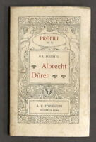 Biografie - Profili N° 72 - Albrecht Durer - 1^ ed. Formiggini 1924