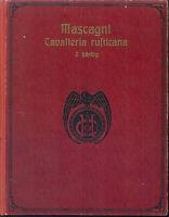 Mascagni ~ Cavalleria rusticana Klavierauszug mit Text - gebunden