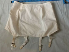 Montgomery Ward Open Bottom Cotton Girdle with Garters Size 30