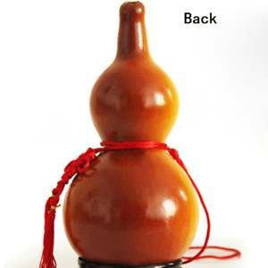 Natural Gourd Calabash Ornament Wine Water Bottle DIY Craft Chinese Lucky Decor