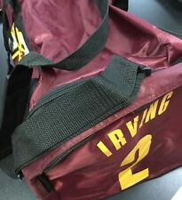 NBA Cleveland Cavaliers Kyrie Irving 2 Basketball Duffle Travel Bag Cavs Maroon
