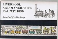 GB Presentation Pack 116 1980 Liverpool and Manchester Railway 10% OFF 5